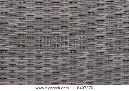 Woven Plastic Wicker Pattern For Background
