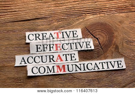 Creative Team  Acronym