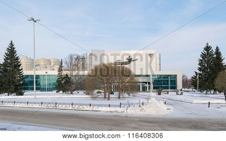 Kosmos Theatre In Winter