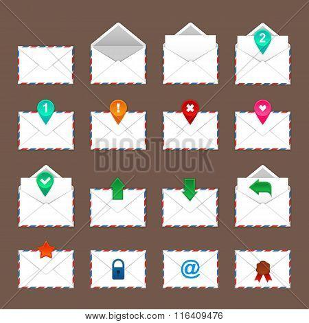 Envelopes icons set. Envelopes icons art. Envelopes icons web. Envelopes icons new. Envelopes icons www. Envelopes icons app. Envelopes icons big. Envelopes set. Envelopes set art. Envelopes set web