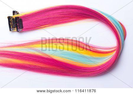Color Clip In Hair