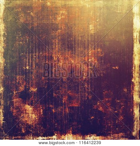 Vintage spotted textured background. With different color patterns: yellow (beige); brown; red (orange); purple (violet); gray