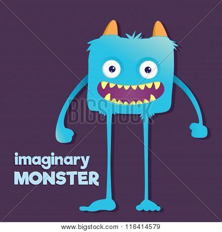 Cute Furry Imaginary Monster