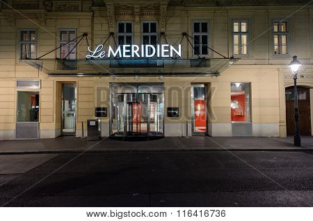Le Meridien Luxury Hotel In The Heart Of Vienn