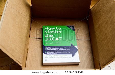 How To Master The Ukcat Book In Cardboard Box