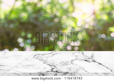 Sunlight And Bokeh Nature Background