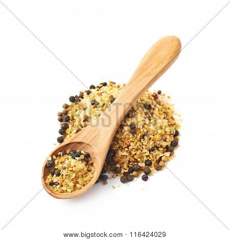 Pile of garlic and pepper seasoning