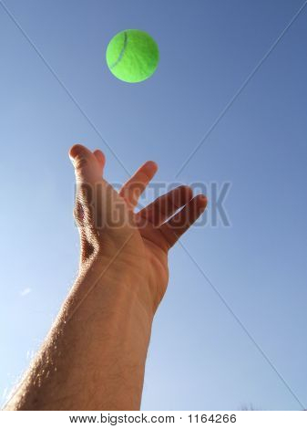 Tennis Ball Serve Toss