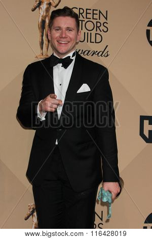 LOS ANGELES - JAN 30:  Allen Leech at the 22nd Screen Actors Guild Awards at the Shrine Auditorium on January 30, 2016 in Los Angeles, CA