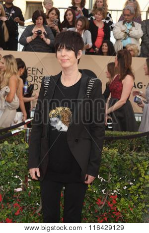LOS ANGELES - JAN 30:  Diane Warren at the 22nd Screen Actors Guild Awards at the Shrine Auditorium on January 30, 2016 in Los Angeles, CA