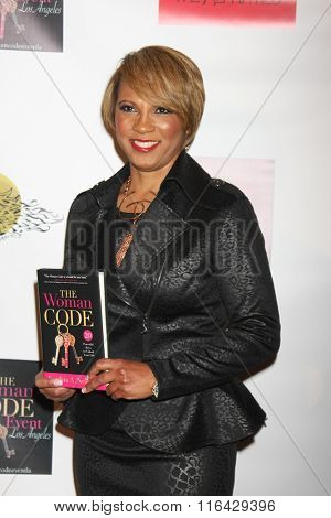 LOS ANGELES - JAN 29:  Sophia A. Nelson at the An Evening with The Woman Code Event at the City Club on January 29, 2016 in Los Angeles, CA