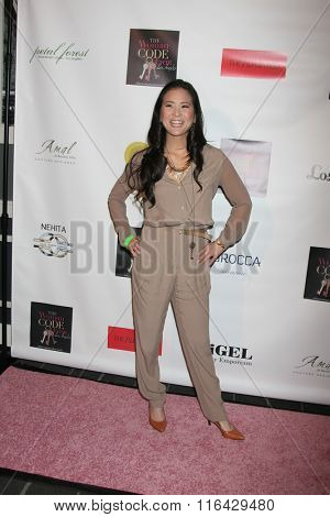 LOS ANGELES - JAN 29:  Yu-Lin Kong at the An Evening with The Woman Code Event at the City Club on January 29, 2016 in Los Angeles, CA