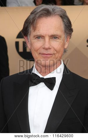 LOS ANGELES - JAN 30:  Bruce Greenwood at the 22nd Screen Actors Guild Awards at the Shrine Auditorium on January 30, 2016 in Los Angeles, CA