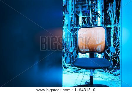 Chair In The Server Room