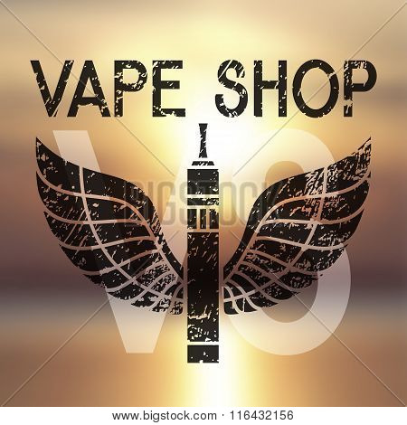 Logo For Vape Shop