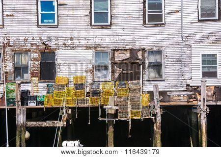 Lobster Traps And Historic Buildings