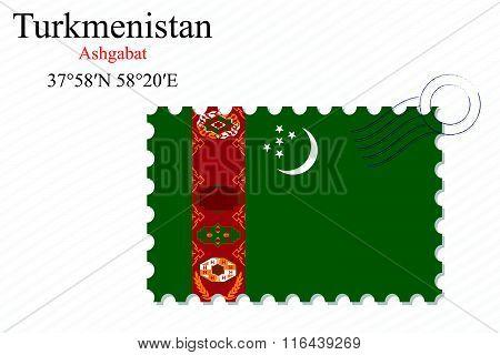 Turkmenistan Stamp Design