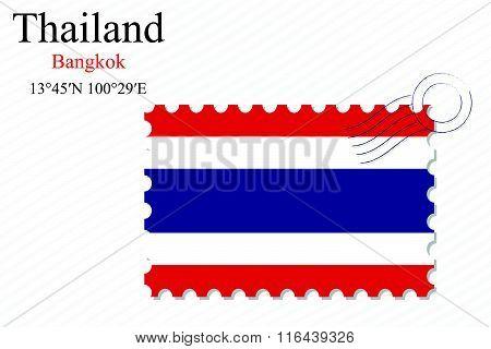 Thailand Stamp Design