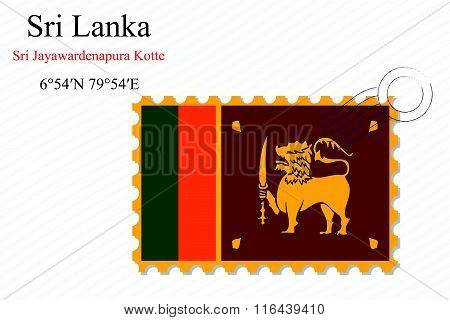 Sri Lanka Stamp Design