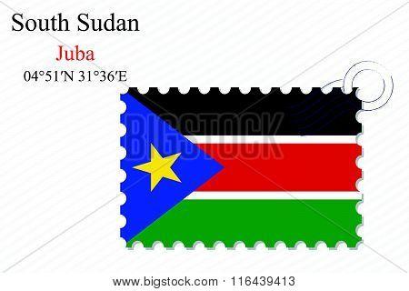 South Sudan Stamp Design