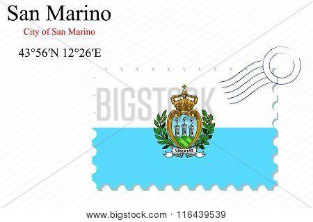San Marino Stamp Design