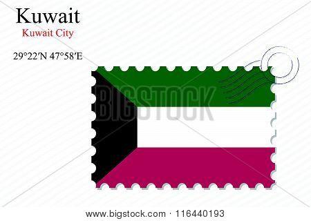 Kuwait Stamp Design