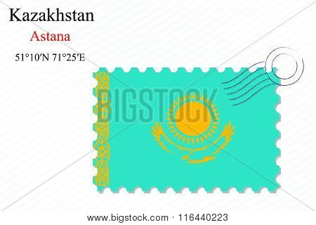 Kazakhstan Stamp Design