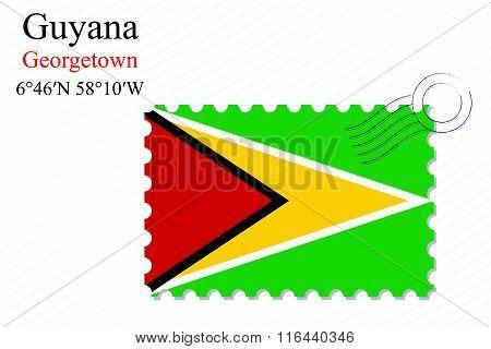 Guyana Stamp Design