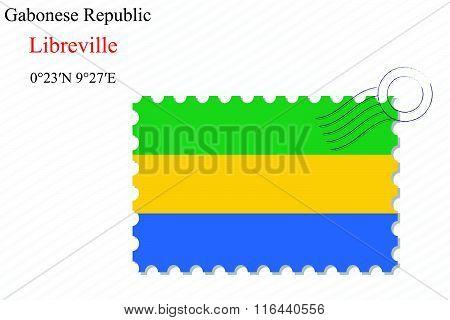 Gabonese Republic Stamp Design