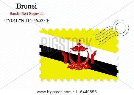 Brunei Stamp Design