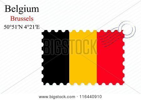 Belgium Stamp Design