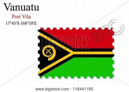 Vanuatu Stamp Design