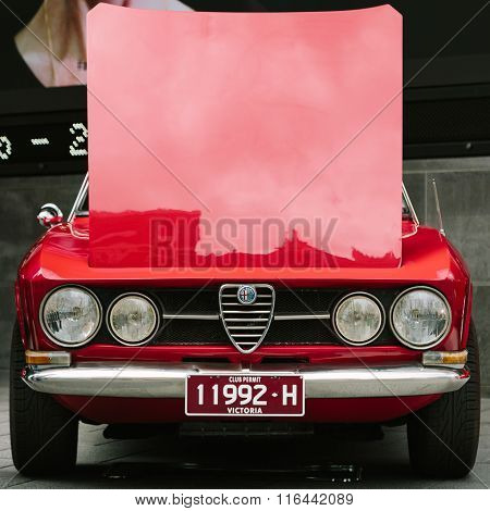 Alfa Romeo Display - Melbourne (aroca)