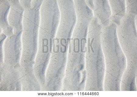 Sea sand under water beautiful light background