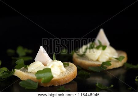 Cream Cheese And Smoked Chicken Appetizer