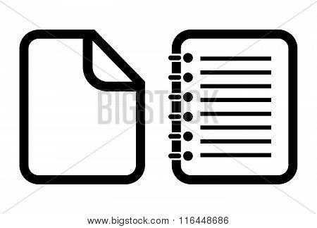 Document vector icon