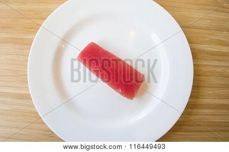 Tuna Sashimi Japanese Food Style