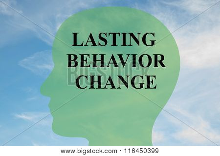 Lasting Behavior Change Concept