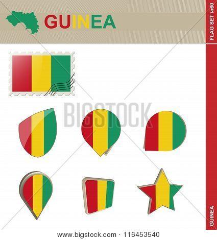 Guinea Flag Set, Flag Set #60