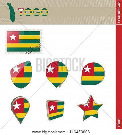Togo Flag Set, Flag Set #65