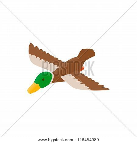 Duck decoy isometric 3d icon