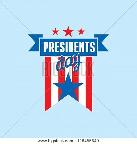 The Presidents Day Vector Template
