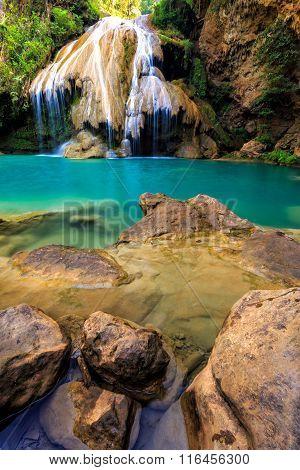 Wonderful Waterfall In Thailand