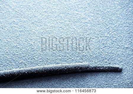 Snowy Windscreen