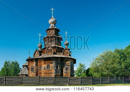 Church of Transfiguration in Suzdal, Russia