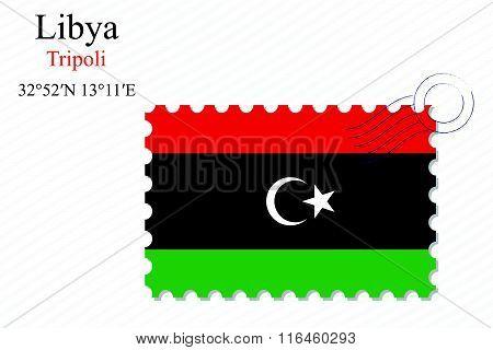 Libya Stamp Design