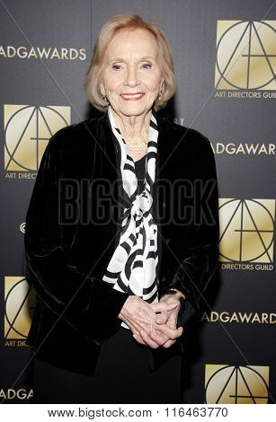 Eva Marie Saint at the 20th Annual Art Directors Guild Excellence In Production Design Awards held at the Beverly Hilton Hotel in Beverly Hills, USA on January 31, 2016.