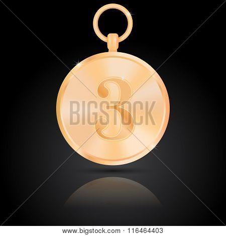 Bronze Medal.