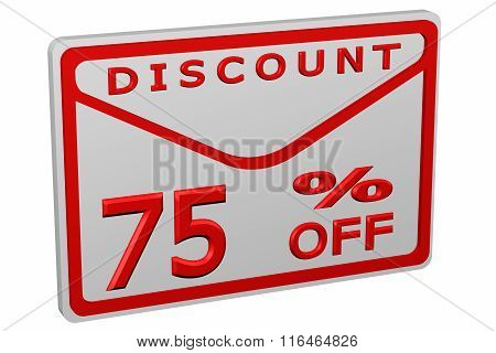 Envelope With Sign Discount 75 % Off