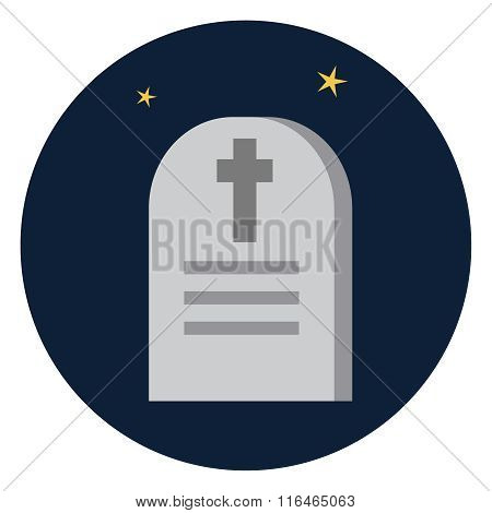 Vector Tombstone icon